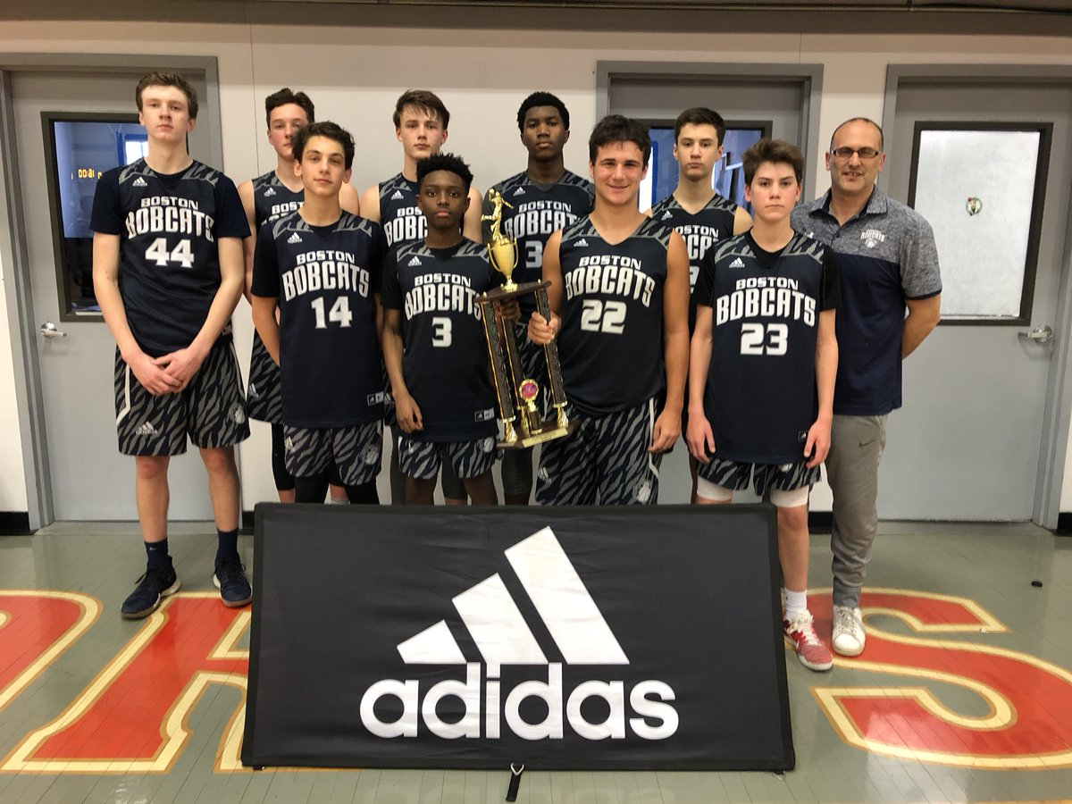 Congrats to Boston Bobcats for winning the Adidas 8th grade Winter Circuit championship! #AdidasNY
