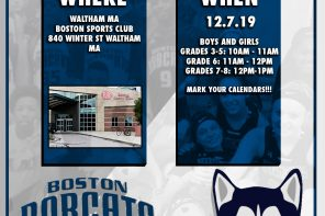 BOSTON BOBCATS: SPRING TRYOUTS 2020 Link –