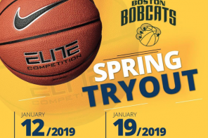 BOSTON BOBCATS: SPRING TRYOUT #1  1/12/19 AT BSC WALTHAM AND TRYOUT #2 1/19/19 MINUTEMAN HIGH SCHOOL LEXINGTON